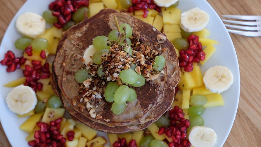Rezept_Vegane Pancakes aus Haferflocken und Banane_1_ernaehrung-bewegt-dich